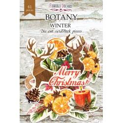Высечки - Botany winter - Фабрика декору