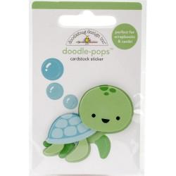 3D наклейка (черепашка) - Doodle-Pops - Doodlebug