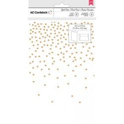 Открытки+конверты (8 шт) - Gold Foil Dots - AC