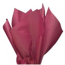 Бумага тишью (бордо)