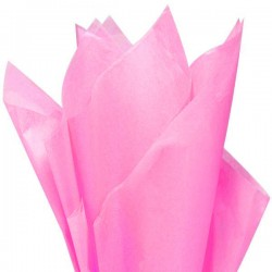 Бумага тишью (розовый)