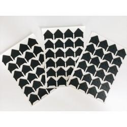 Уголки для фото (чёрные)