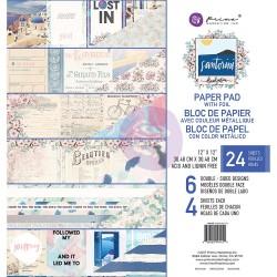 1/2 набора бумаги 30х30 - Santorini - Prima Marketing