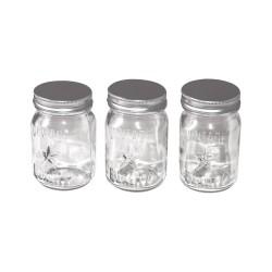 Баночки стеклянные - Idea-Ology Mini Glass Mason Jars