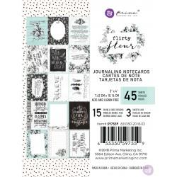 1/3 набора карточек 3х4 - Flirty Fleur - Prima Marketing