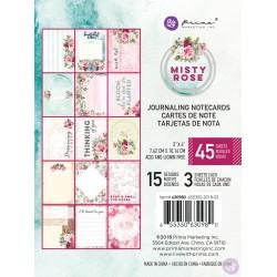 1/3 набора карточек 3х4 (15 шт) - Misty Rose - Prima Marketing