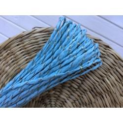 Шнур цветной (голубой), 1 м