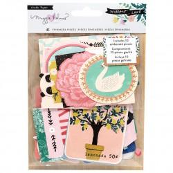 Высечки - Willow Lane - Crate Paper
