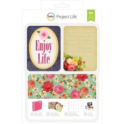 Набор карточек Project Life (180 шт) - Enjoy Life