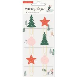 Декоративные скрепки -Merry Days - Crate Paper