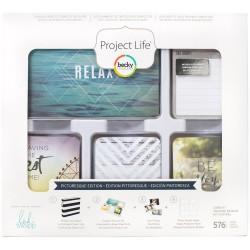 Набор карточек Project Life (576 шт) - Picturesque