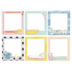 Рамочки чипбордовые - Simple & Sweet -  Pinkfresh Studio