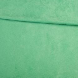 Замша иск. стрейч (мятный тёмный), 25х30 см
