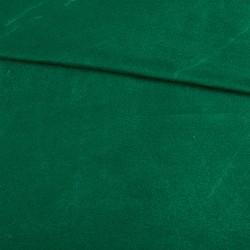 Замша иск. стрейч (тёмно-зеленая), 25х31 см
