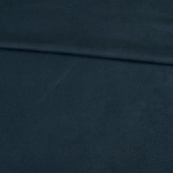 Замша иск. стрейч (тёмно-синяя), 25х30 см