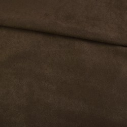 Замша иск. тонкая (тёмно-коричневая), 25х30 см