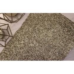 Ткань с крупным глиттером (золото), 25х34 см