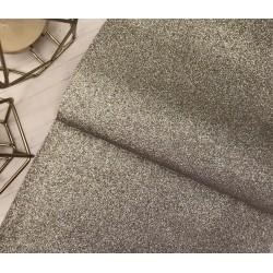 Ткань с мелким глиттером (светлое золото), 25х34 см