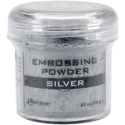 Пудра для эмбоссинга (серебро) - Silver Tinsel - Ranger