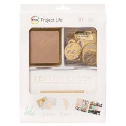 Набор карточек + ацетатные высечки (87 шт) - Craft&Foil - Project Life
