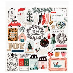 Чипборд - Merry Days - Crate Paper