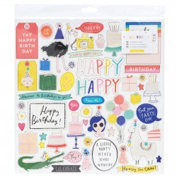 Чипборд - Hooray - Crate Paper