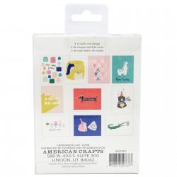 1/2 набора открытки+конверты (10 шт) - Hooray - Crate Paper