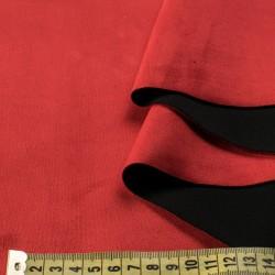 Замша на дайвинге (красная), 25х29 см