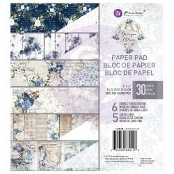 1/5 набора бумаги 15х15 см (6 листов) - Georgia Blues -  Prima Marketing
