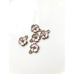Подвеска - цветок (розовый)
