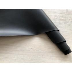 Кожзам переплётный (матовый). Черный, 25х35 см