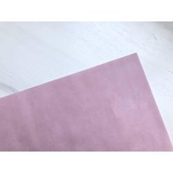 Бумага бархатная (150 г/м2) - светло-розовая, 25х23 см