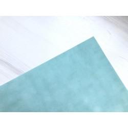 Бумага бархатная (150 г/м2) - мятная, 25х23 см