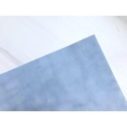 Бумага бархатная (150 г/м2) - серо-голубая, 25х23 см