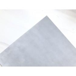 Бумага бархатная (150 г/м2) - светло-серая, 25х23 см