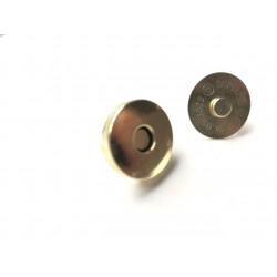Кнопка магнитная 18х6 мм - золото