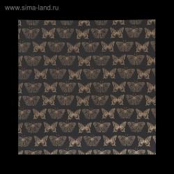 """Ацетатный лист с золотым фольгированием, 30,5х30,5 см - """"Бабочки"""" - Polkadot"""