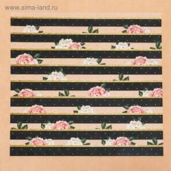 Ацетатный лист, 30,5×30,5 см - «Парижское небо» - Артузор