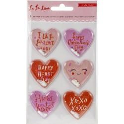 Наклейки-шейкеры - La La Love - Crate Paper