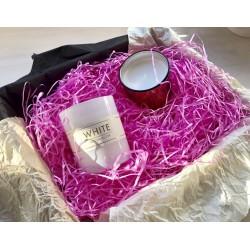 Декоративный наполнитель (розовый), 100 грамм
