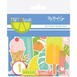 Высечки (66 шт) - Tutti Frutti - My Minds Eye