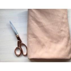 Замша Рига (на ткани), розовый жемчуг