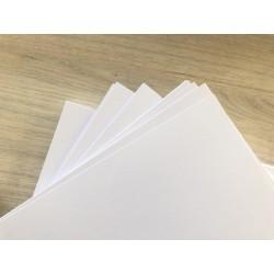Дизайнерский картон (270 г) - айвори, с лёгкой фактурой (22,5х21 см)