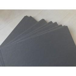 Дизайнерский картон (270 г) - серый, с лёгкой текстурой (22,5х21 см)