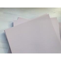 Дизайнерский картон (290 г) - пудровый (22,5х21 см)