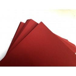 Дизайнерский картон (270 г) - красный (22,5х21 см)