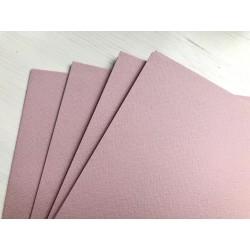 Дизайнерский картон (250 г) - пыльно-розовый (31,5х30 см)