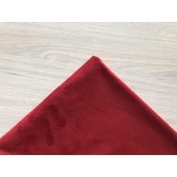 Замша (двухсторонняя), красная,  25х30 см