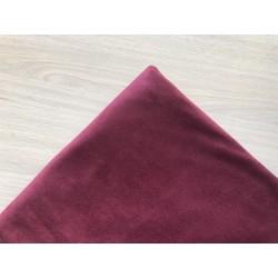 Замша (двухсторонняя) - марсала,  25х30 см