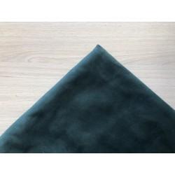 Замша (двухсторонняя) - изумрудный, 25х30 см